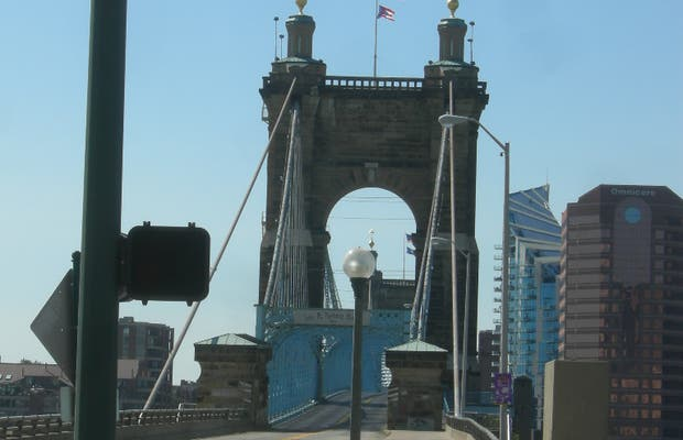 John A. Roebling bridge
