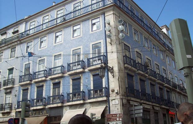 Edifici di Lisbona