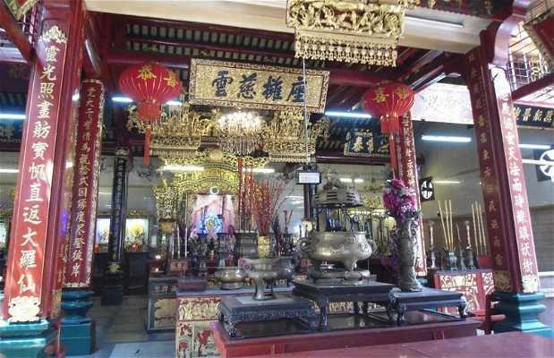 Temple chinois de Rangoon