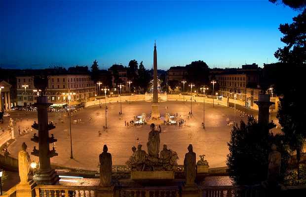 Praça do Povo - Piazza del Popolo