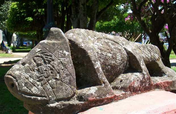 Los personajes mitologicos de Plaza de Armas
