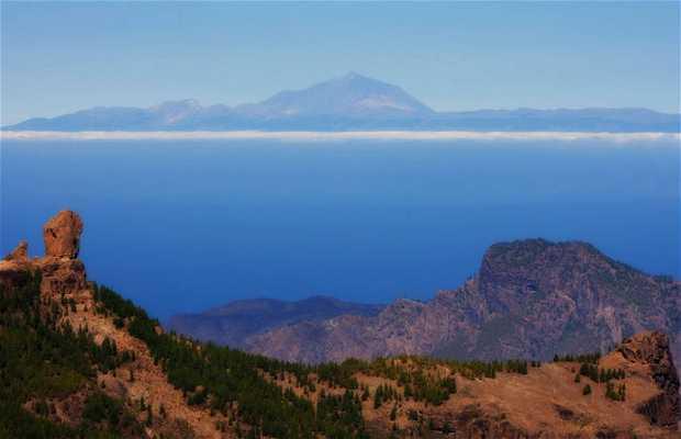 El centro montañoso de Gran Canaria