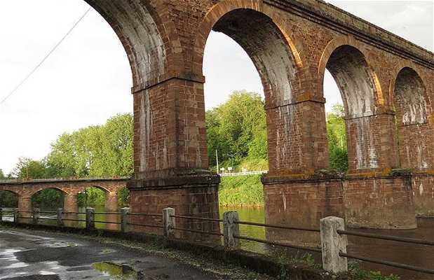 Pont et viaduc de Saint Pantaléon de Larche