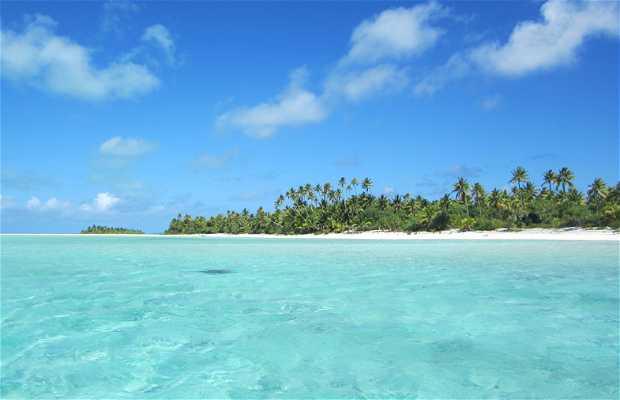 Excursión en barco por la laguna de Aitutaki