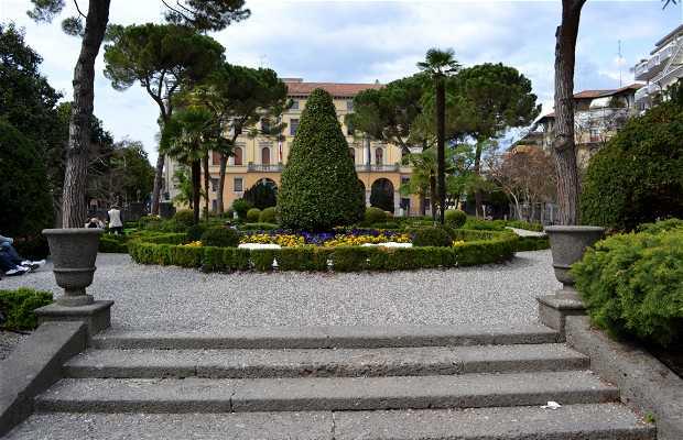 Jardín histórico Pascoli