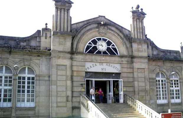 Plaza de Abastos di As Burgas a Orense