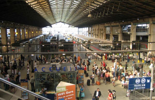 Estación de Paris Saint-Lazare - Gare du Saint Lazare