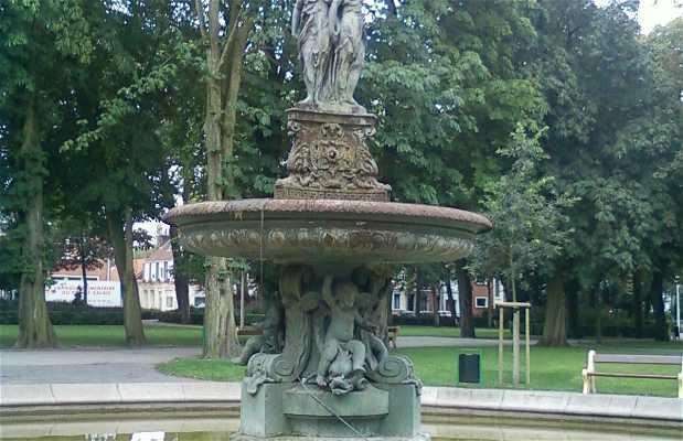 Fuente parc saint pierre