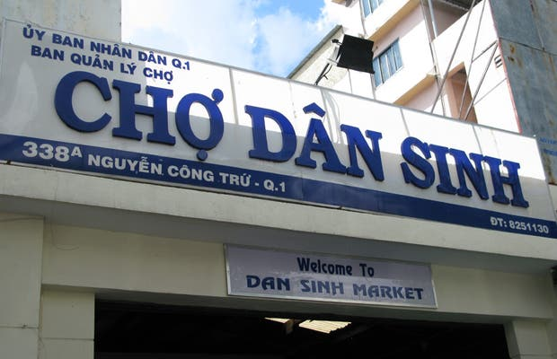 Marché de Cho Dan Sinh