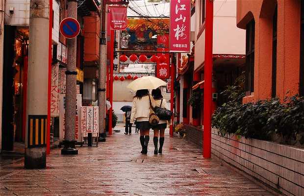 Chinese Quarter in Nagasaki