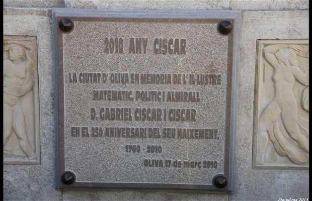 Monument to Gabriel Ciscar