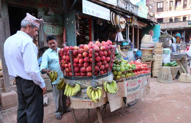 Mercado de Bhaktapur