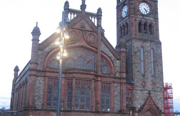 Guildhall o ayuntamiento de Derry