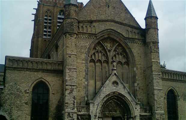 Church of Notre-Dame in Calais