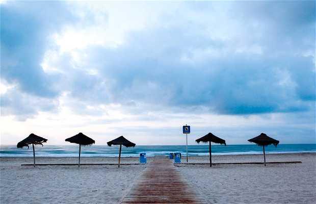 The Gurugú Beach