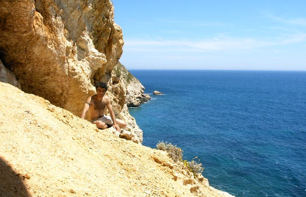 Senda playa de Moraig
