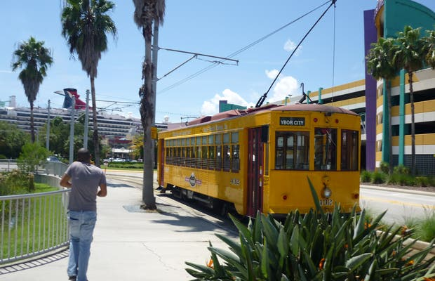 The tramway of Tampa