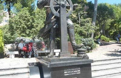 La statue d'Albert 1er