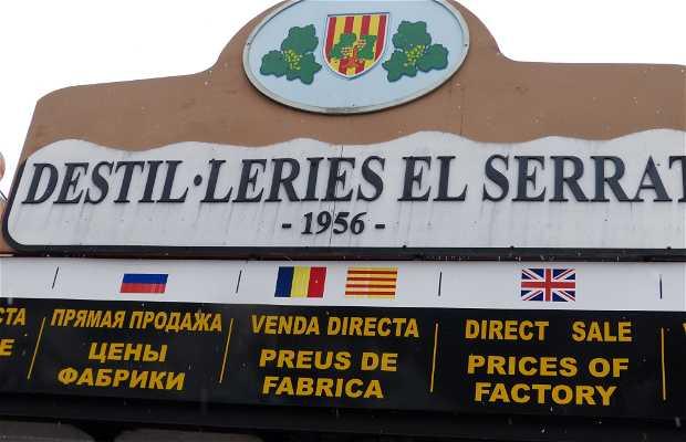 Destilería El Serrat