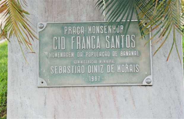 Praça Monsenhor Cid França Santos