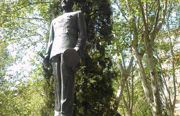 Estatua de Juan Domingo Perón en Madrid