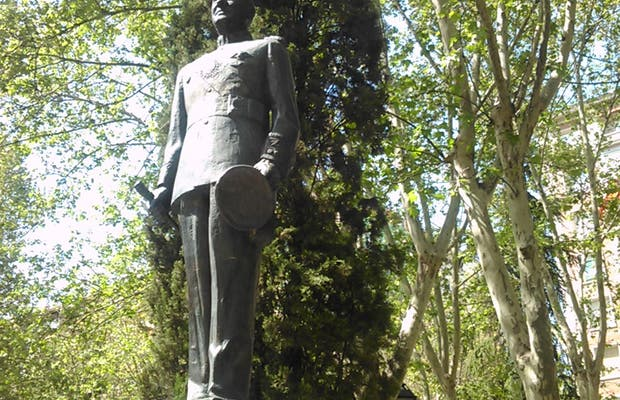 Juan Domingo Perón Statue in Madrid