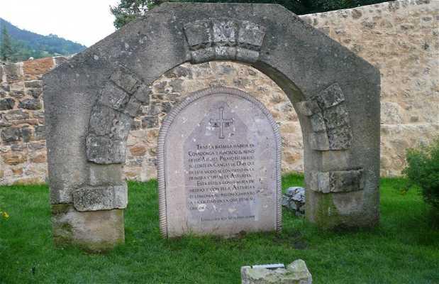 Monumentos tras la Batalla de Covadonga