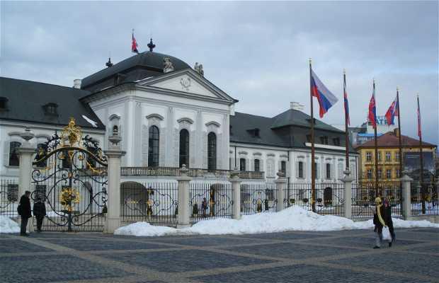 Le palais présidentiel Grassalkovich