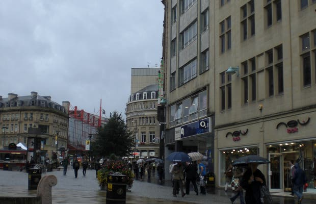 High Street di Sheffield