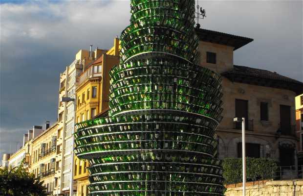 Árbol de Botellas de Sidra