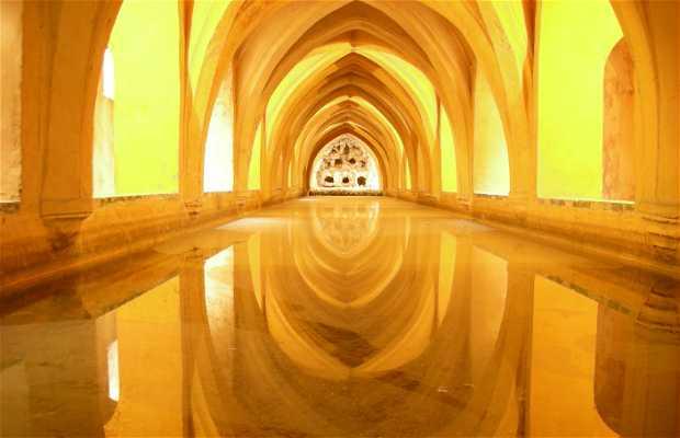 Arab Baths of the Alcazar of Córdoba