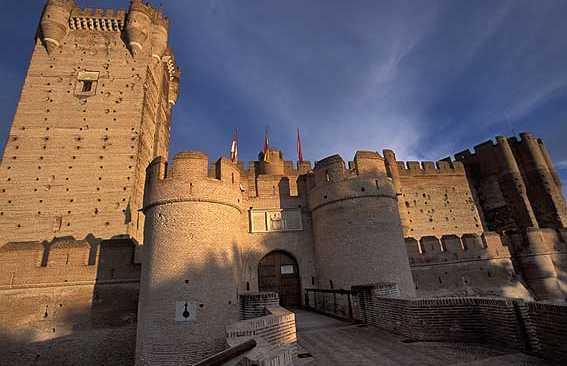 Le château de La Mota