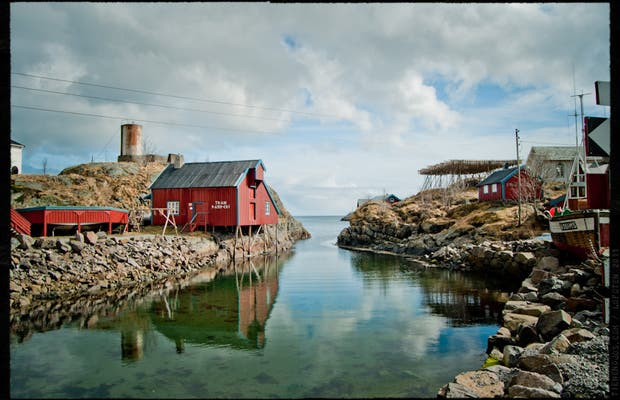 Rorbuer, Fishermen Huts in Lofoten