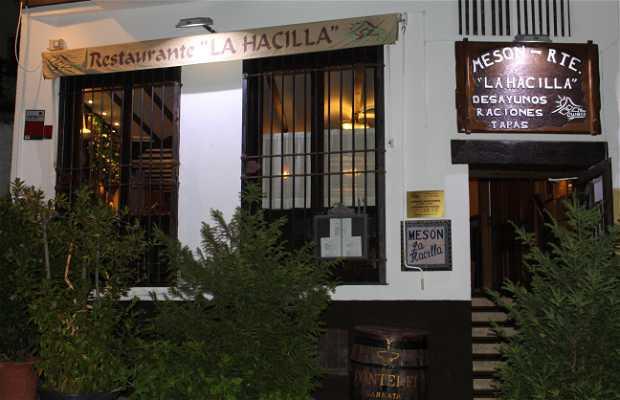 Restaurante la Hacilla