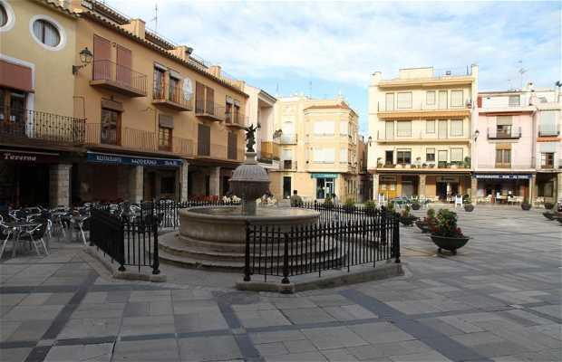 Plaza Mayor-Fuente del Ángel