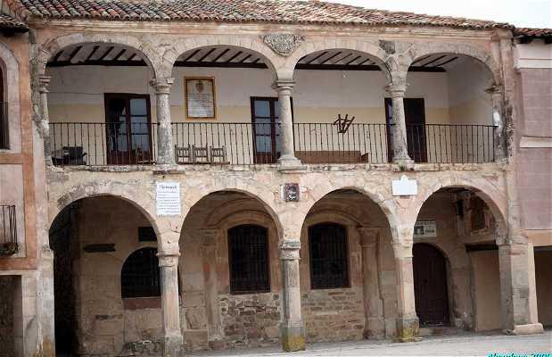 Main square of Medinaceli