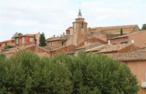 Clocher de Roussillon