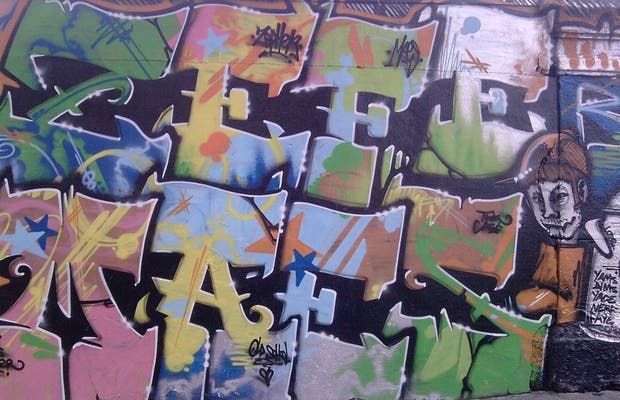 Muro en la calle Ordener