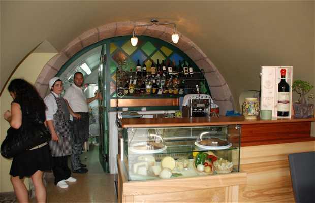 Le restaurant Verde Fiume