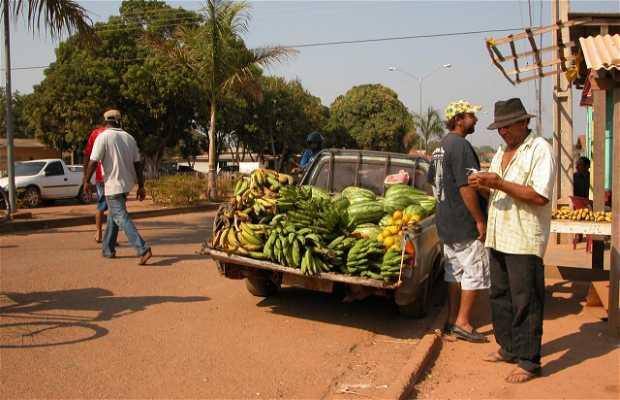 Puestos de Fruta en Nova Mamoré
