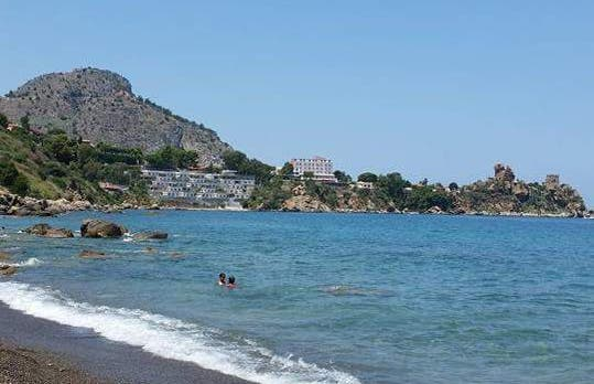 Le calette di Cefalù, spiaggia