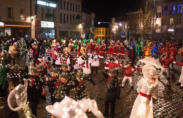 Parade de Noël de Péruwelz