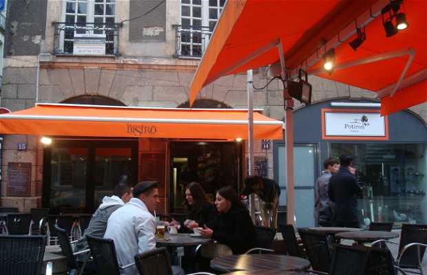 Cafés de Place du Pilori