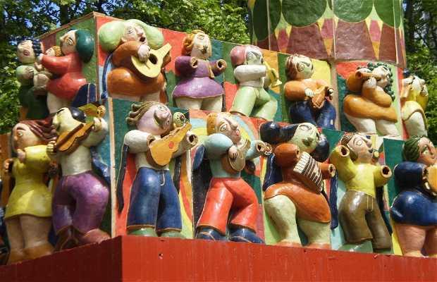 Monumento a la música tradicional