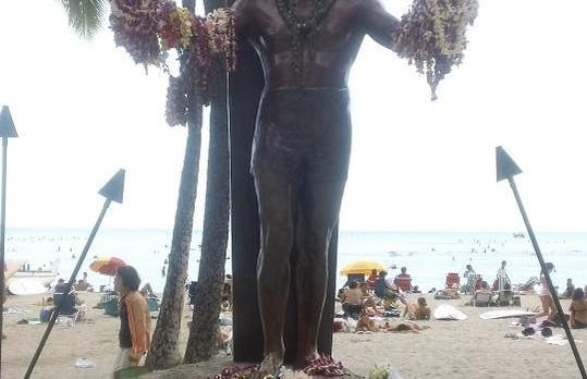 Statue of Duke Kahanamoku