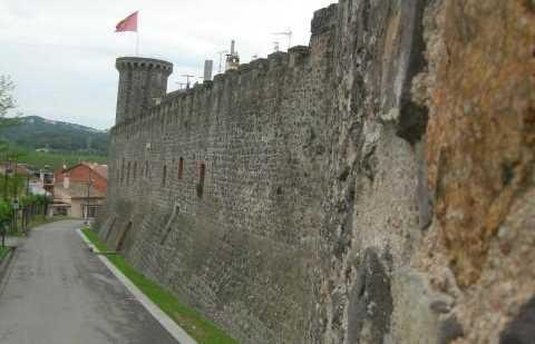 Walled enclosure