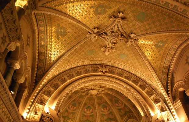 Crypte de la basilique de Fourvière