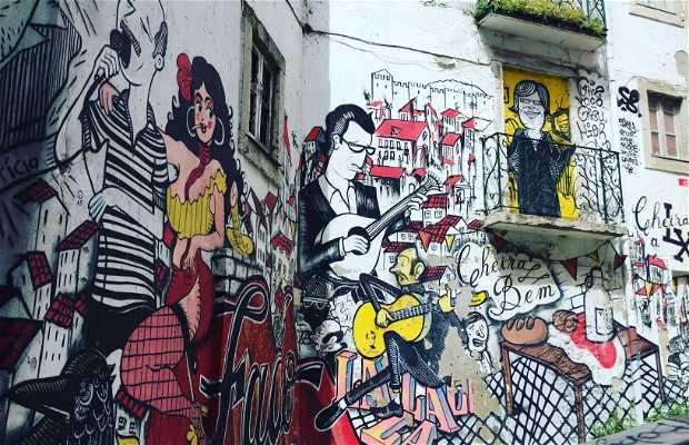 Grafite das Escadinhas de São Cristóvão