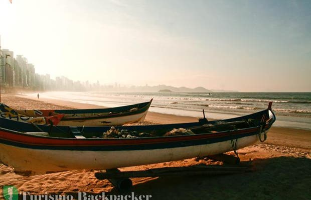 Pesca artesanal en Balneário Camboriú