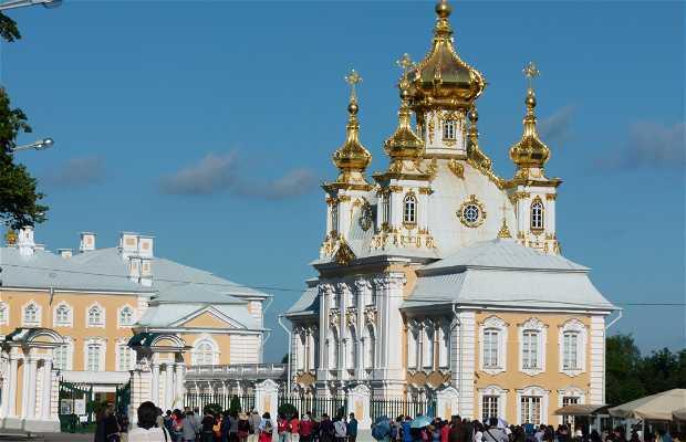 Palazzo di Petehof a San Pietroburgo